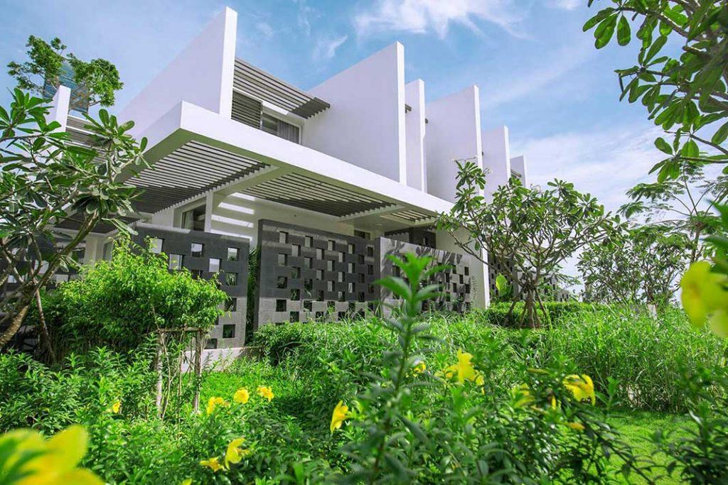 Mặt Ngoài Căn Biệt Thự Biển Oceanami Long Hải Villas & Beach Club