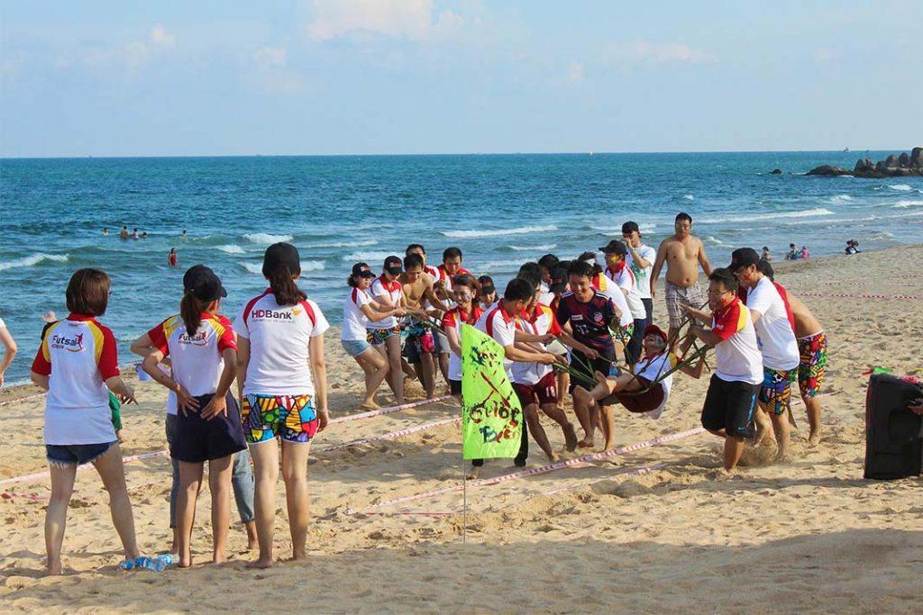 Team Buiding 2018 của HD Bank Tổ Chức Tại Oceanami Long Hải Villas & Beach Club